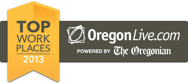 Oregon Live - Top Work Places 2013