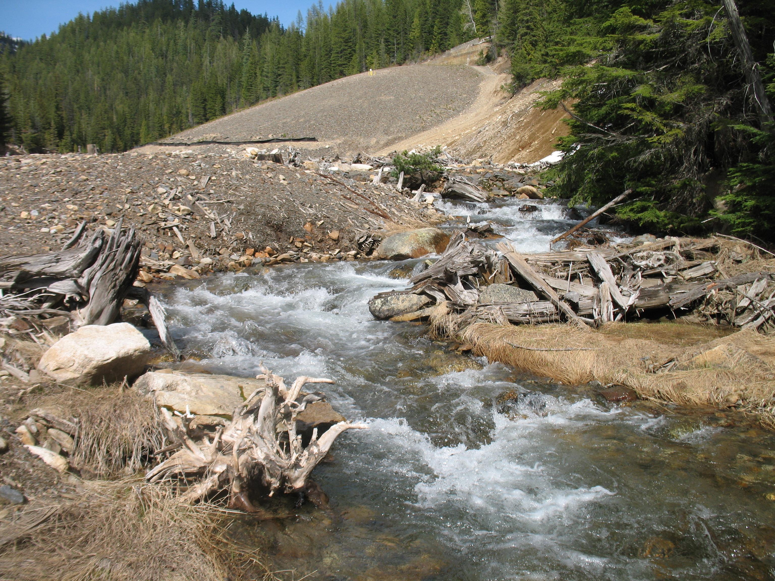NM-510--Sample site looking upstream
