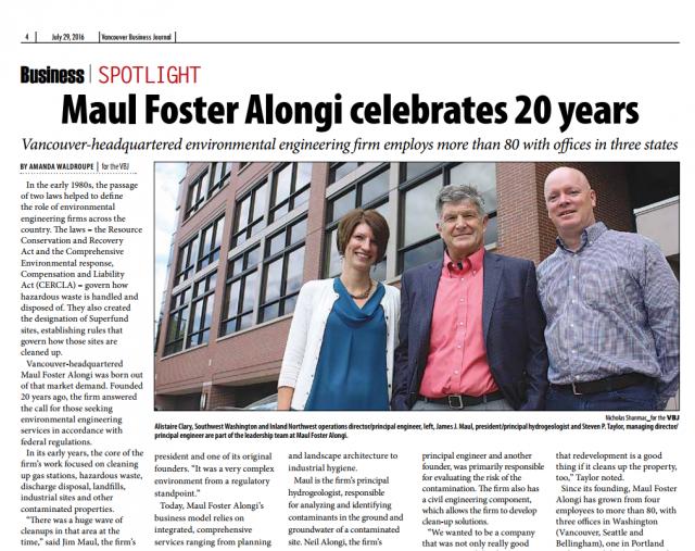 Maul Foster & Alongi
