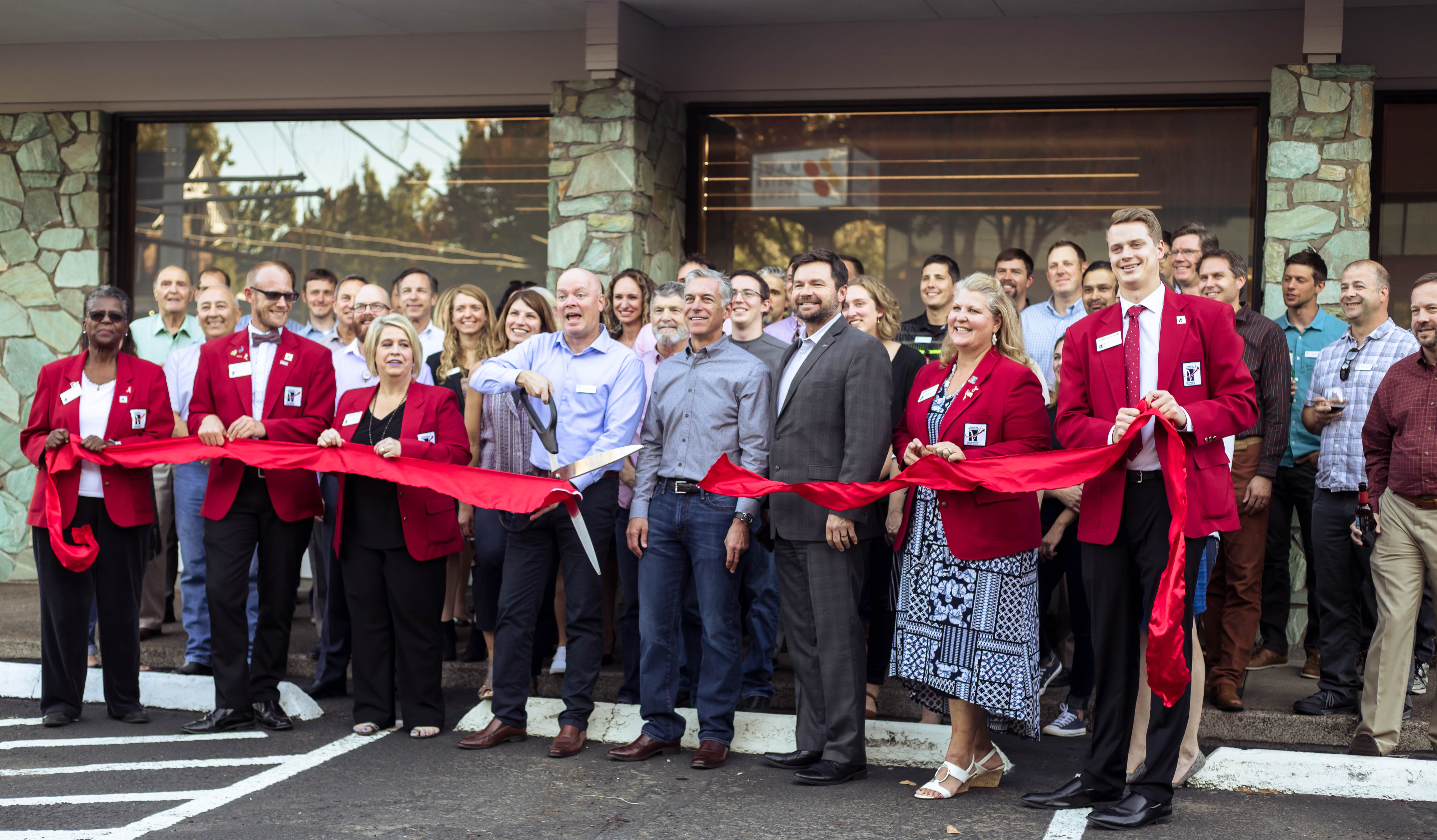 Maul Foster & Alongi's new headquarters ribbon cutting | MFA