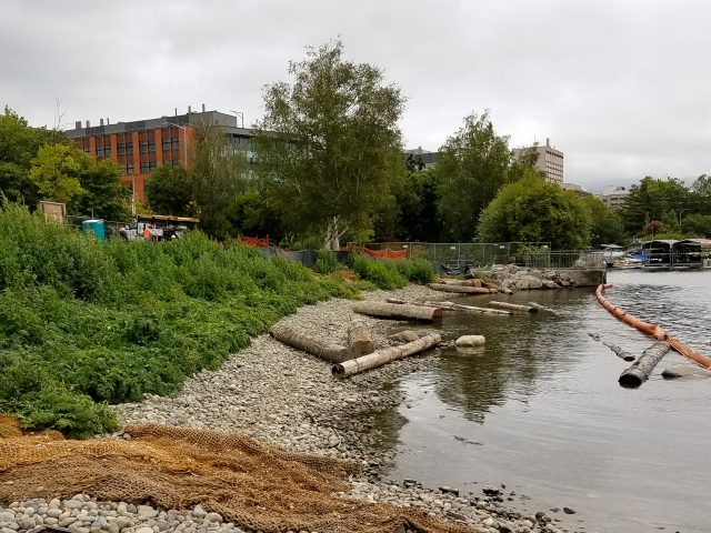 Environmental Remediation Nearing Completion for New Portage Bay Park