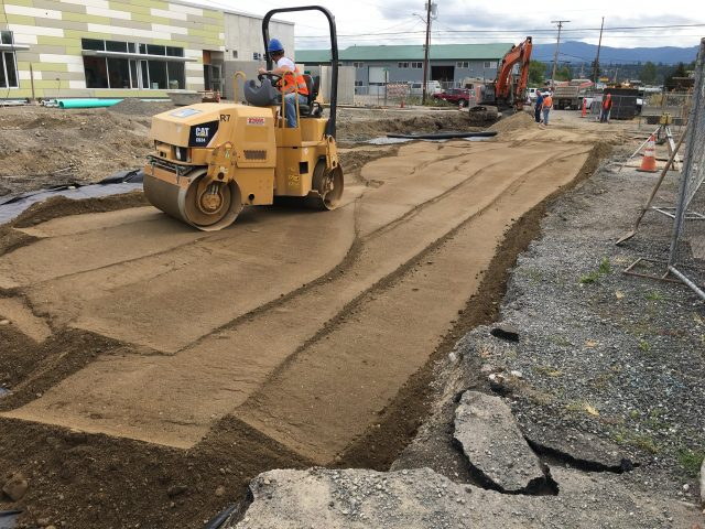Construction Progress at Bellingham's Options High School