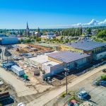 Construction Progress at Bellingham's Options High School