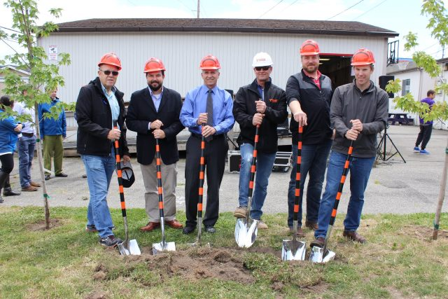 Groundbreaking at Bellingham Options High School
