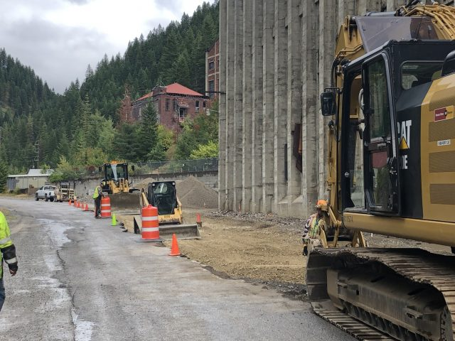 Construction in the Silver Valley