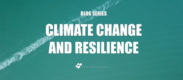Text: Climate Change and Resilience